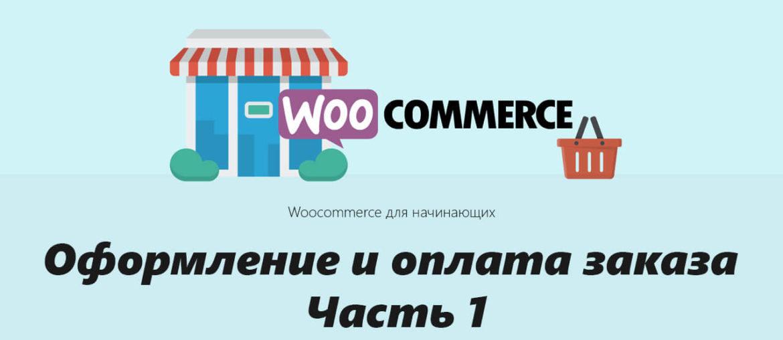 Руководство по Woocommerce для начинающих - Оформление и оплата заказа Часть 1