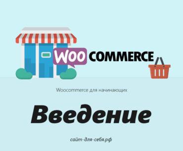 Руководство по Woocommerce для начинающих - Введение