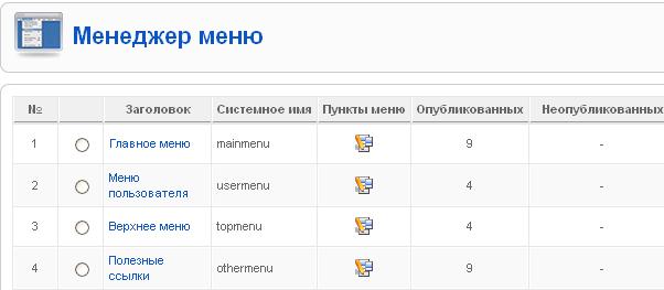 Админка Joomla 1.5 - obzor adminki joomla 8