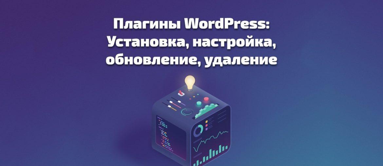 Плагины WordPress: Установка, настройка, обновление, удаление - plaginy wordpress ustanovka nastrojka obnovlenie udalenie 1170x508
