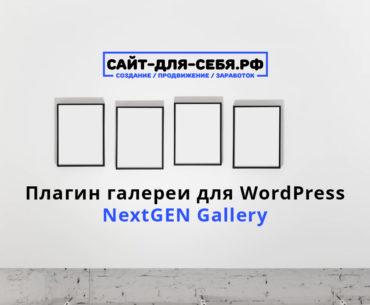 Плагин галереи для WordPress — NextGEN Gallery - nextgen gallery 370x305